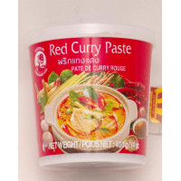 Curry paszta red 400 g COCK BRAND